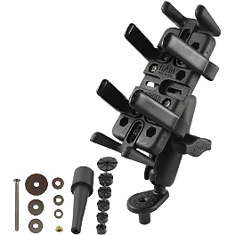 RAM Mounts Universal Finger Grip Holder With Stem Mount - RAM Mounts Handlebar Combo Kit