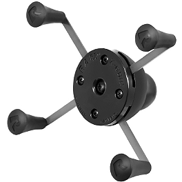 "RAM Mounts Universal X-Grip IV Large Holder With 1"" Ball Mount - RAM Mounts Single Hole Base With Ball"