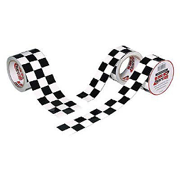 "Racers Tape Checkerboard Tape - 2"" X 45' - BikeMaster Chain Breaker Tip"