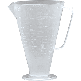 Ratio Rite Measuring Cup - BikeMaster Measuring Cup With Lid