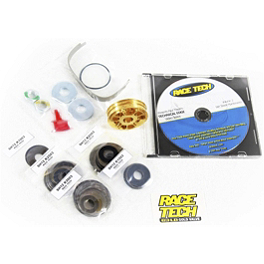 Race Tech G2R Fork Gold Valve Kit - 2011 KTM 530EXC Factory Connection Shock Spring