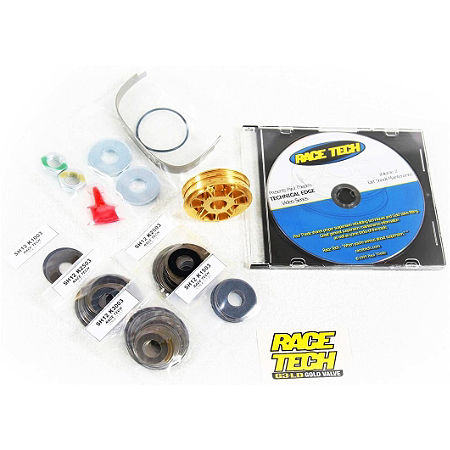 Race Tech G2R Fork Gold Valve Kit - Main