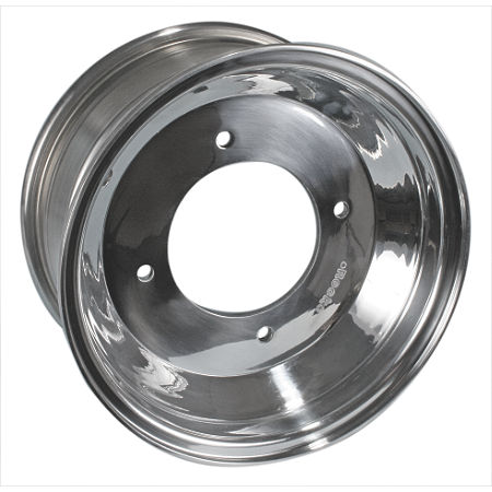 Rock Aluminum Rear Wheel - 10X8 - Main