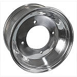 Rock Aluminum Rear Wheel - 10X8 - Kawasaki KFX450R ATV Tire and Wheels