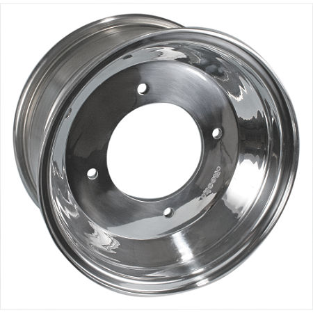 Rock Aluminum Rear Wheel - 8X8 - Main