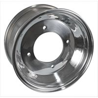 Rock Aluminum Rear Wheel - 8X8