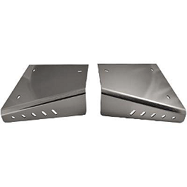 Rock A-Arm Skid Plates - 2006 Kawasaki KFX400 Rock Front Reservoir Cover