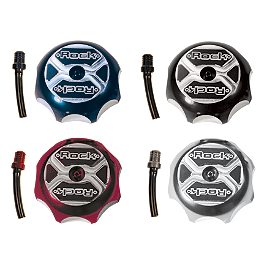 Rock Gas Cap - 2010 Suzuki RMZ450 Rock Tri Blade Gas Cap