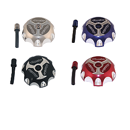 Rock Tri Blade Gas Cap - 2013 Honda CRF450X Turner Gas Cap