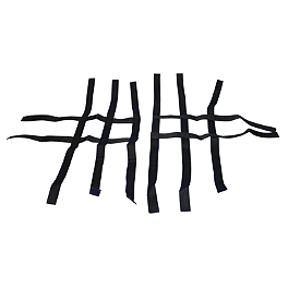 Rock Standard Nerf Bar Nets Black - 2003 Honda TRX400EX Rock Pro Series Race Nerf Bars - Black
