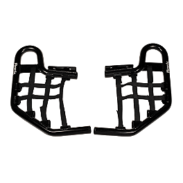 Rock Standard Nerf Bar Nets Black - Rock Cross Country Front Bumper - Black