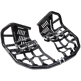 Rock Pro Series Race Nerf Bars - Black - 2012 Yamaha RAPTOR 250 Rock Aluminum Front Wheel - 10X5