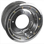 Rock Standard Beadlock Wheel Rear - 8X8 - Kawasaki KFX450R ATV Tire and Wheels