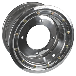 Rock Standard Beadlock Wheel Rear - 9X8 - 2012 Yamaha RAPTOR 125 Rock Aluminum Rear Wheel - 10X8