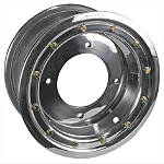 Rock Standard Beadlock Wheel Rear - 9X8 - Kawasaki KFX450R ATV Tire and Wheels