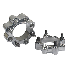 Rock Billet Wheel Spacers - 4/110 45mm - Blingstar MX Series Grab Bar - Polished Aluminum