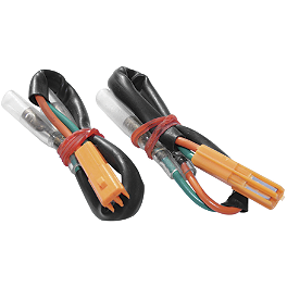 Rumble Concept Turn Signal Adapter Plugs - 3-Wire - Honda - Rumble Concept Thunder LED Turn Signals