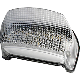 Rumble Concept Integrated LED Tail Light Kit - Clear - 2000 Kawasaki ZX750 - Ninja ZX-7R AKO Racing LED Integrated Tail Light