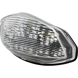Rumble Concept Integrated LED Tail Light Kit - Clear - 2008 Suzuki GSX-R 1000 AKO Racing LED Integrated Tail Light