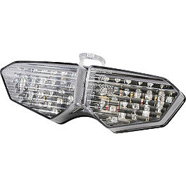 Rumble Concept Integrated LED Tail Light Kit - Clear - 2003 Yamaha YZF - R6 AKO Racing LED Integrated Tail Light