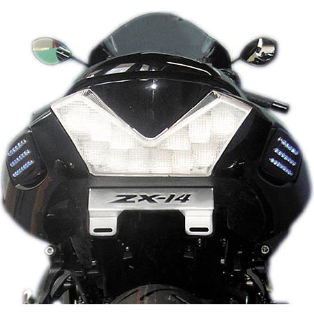 Rumble Concept Backdraft LED Turn Signals - Lime Green - Main