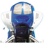 Rumble Concept Backdraft LED Turn Signals - Oort Grey Metallic - Rumble Concept Motorcycle Turn Signals