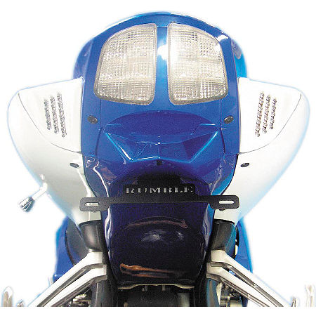 Rumble Concept Backdraft LED Turn Signals - Metallic Sonic Silver - Main
