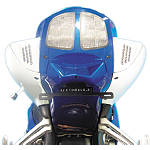 Rumble Concept Backdraft LED Turn Signals - Pearl Splash White - Rumble Concept Motorcycle Turn Signals