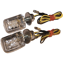 Rumble Concept Mighty LED Turn Signals - Rumble Concept Easy Plug Relay - Honda