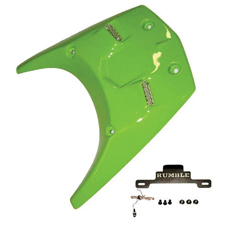Rumble Concept Ghost Series Undertail Kit - Lime Green - Main