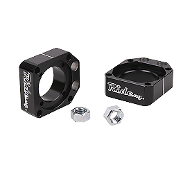 Ride Engineering Axle Blocks - Black - 2012 Honda CRF250X Ride Engineering Timing Plugs