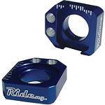 Ride Engineering Axle Blocks - Blue - Yamaha WR250X (SUPERMOTO) Dirt Bike Body Parts and Accessories