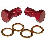 Ride Engineering Banjo Bolts - Red