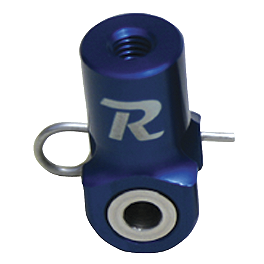 Ride Engineering Rear Brake Clevis - Blue - 2004 Yamaha YZ450F Ride Engineering Oil Filler Plug - Red
