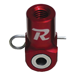 Ride Engineering Rear Brake Clevis - Red - 2004 Yamaha YZ250 Fasst Company Rear Brake Return Spring - Black