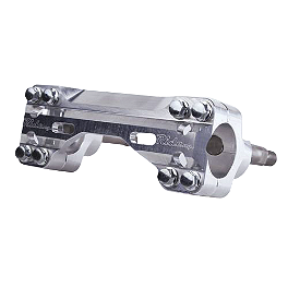 "Ride Engineering Bar Mounts - Oversize 1-1/8"" Bars - Applied R/S Triple Clamp Kit With Oversized Bar Mounts - Silver"