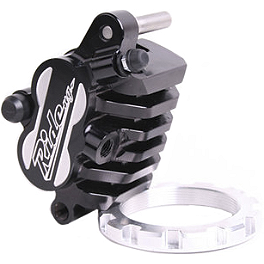 Ride Engineering Billet Front Brake Caliper - 2005 Yamaha WR450F Ride Engineering Oil Filler Plug - Red
