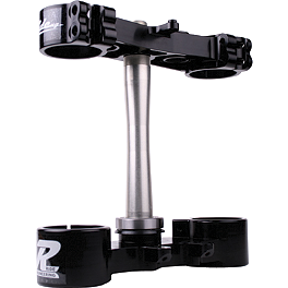 Ride Engineering Billet Clamp Set - 20mm Offset - Black - 2012 Suzuki RMZ450 Ride Engineering Timing Plugs