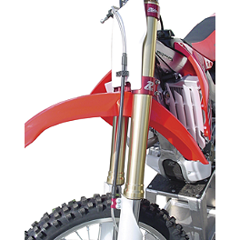 Ride Engineering Front Brake Line Kit - 2004 Yamaha YZ450F Ride Engineering Oil Filler Plug - Red