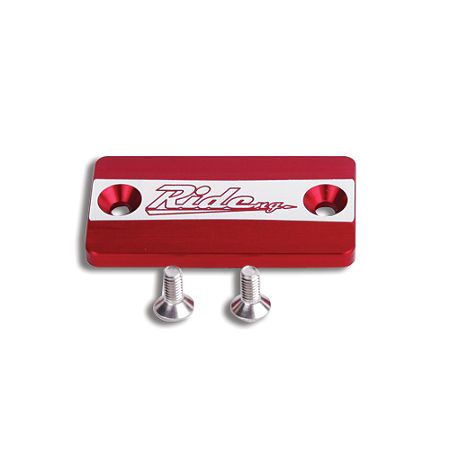 Ride Engineering Front Brake Reservoir Cap - Red - Main