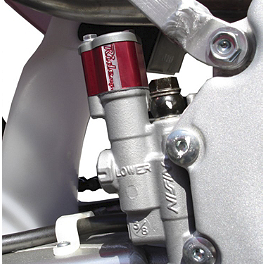 Ride Engineering Rear Master Cylinder Extension - Red - 2005 Honda CRF250X Ride Engineering Timing Plugs