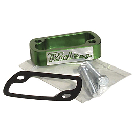 Ride Engineering Rear Master Cylinder Extension - Green - 2013 Suzuki RMZ450 Ride Engineering Timing Plugs