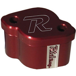 Ride Engineering Rear Master Cylinder Extension - Red - 2012 Yamaha WR250F Ride Engineering Oil Filler Plug - Red