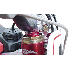 Ride Engineering Bolt-On Compression Adjusters - Red - 2011 Honda CRF250R Ride Engineering Linkage Red