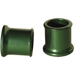 Ride Engineering Front Wheel Spacers - Green - MSR Axle Pull Front