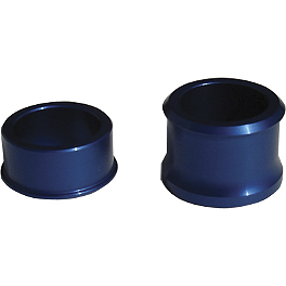 Ride Engineering Front Wheel Spacers - Blue - Ride Engineering Rear Wheel Spacers - Blue