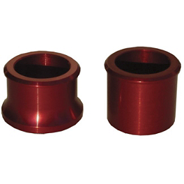 Ride Engineering Front Wheel Spacers - Red - 2007 Yamaha YZ450F Ride Engineering Timing Plugs