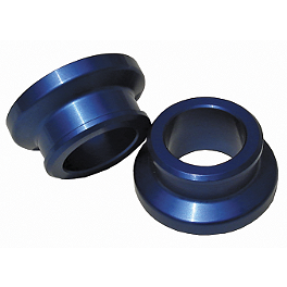 Ride Engineering Rear Wheel Spacers - Blue - 2009 Yamaha YZ250F Turner Front Wheel Spacers - Blue