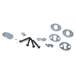 Removable Wheel Chock Hardware Kit - Removable Wheel Chock Chrome