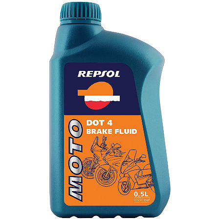 Repsol Moto DOT4 Brake Fluid - 500ml - Main